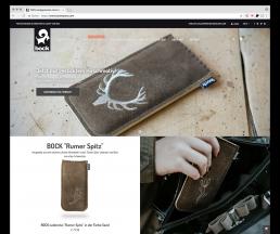 Webshop - Bockcases E-Commerce - Ihre Shop Agentur