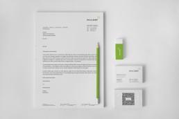 Corporate Design, Grafikdesign exceet Group AG