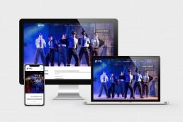 Theater.RUM Webdesign - Website erstellen