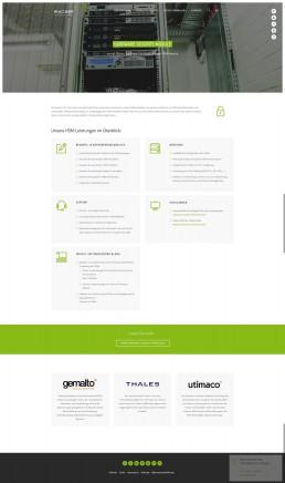 exceet Secure Solutions Website