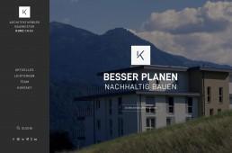Webdesign Tirol Andreas Huber - Architekturbüro Kurz