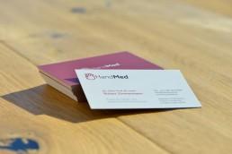 HandMed Dr. Zimmermann - Visitenkarten