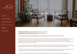 Praxis erdreich - Website Wordpress, Webdesign Andreas Huber Tirol