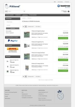 PiXtend Gambio Shop - Unterstützung - E-Commerce Agentur